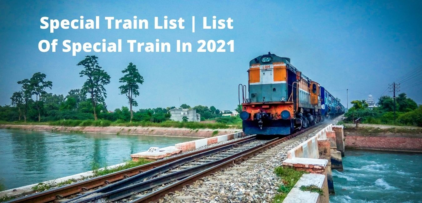 special train list